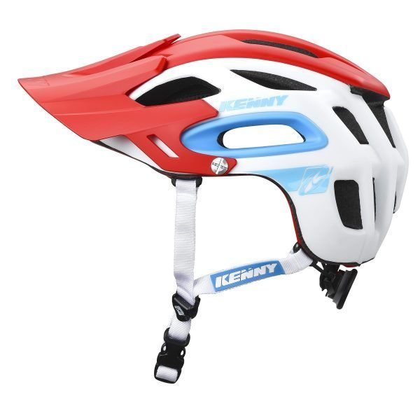 přilba Kenny Racing Enduro S3 White Red