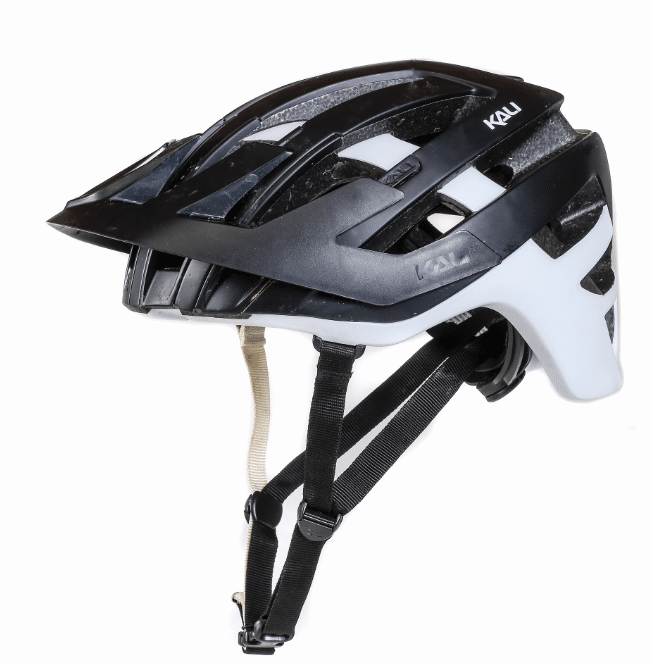Kali Interceptor Enduro Black White helmet