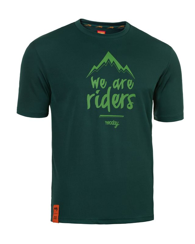 dres Rocday MTN Jersey SANITIZED® RECYCLED FABRIC Dark Green