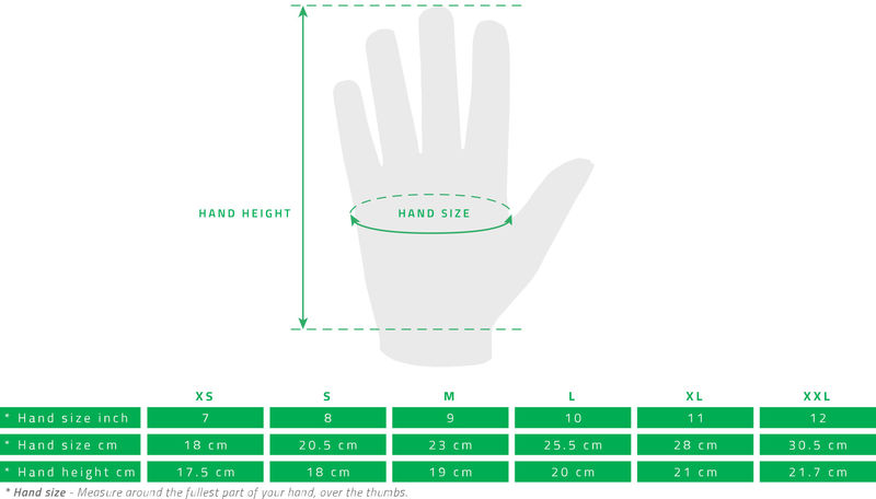 Rocday Gloves Sizing Chart
