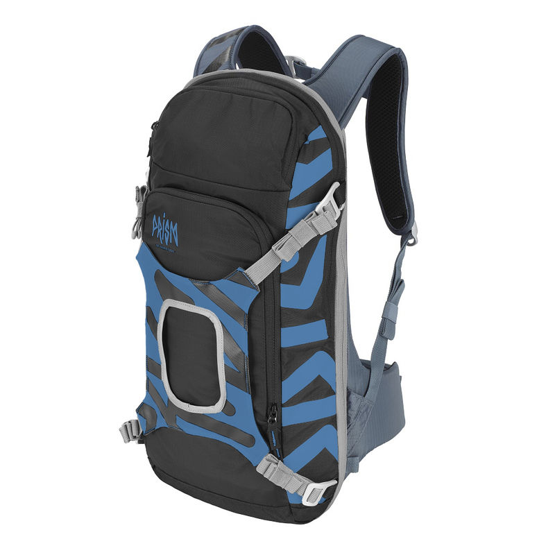 Prism Helium set 11L Set Blue Ocean - complete sports backpack with back protection