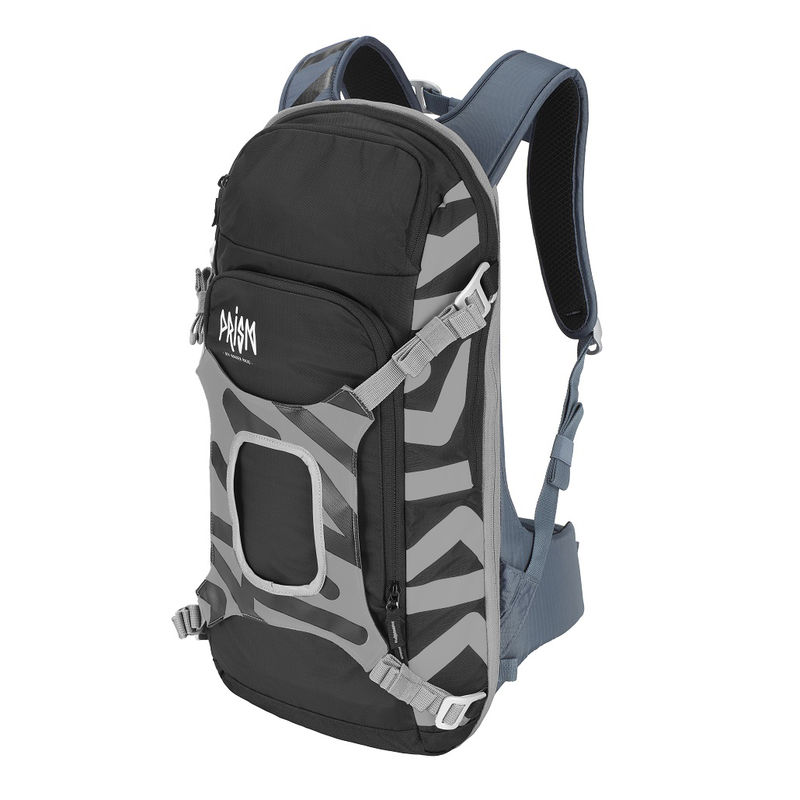 Prism Helium set 11L Set Gray Iron - complete sports backpack with back protection