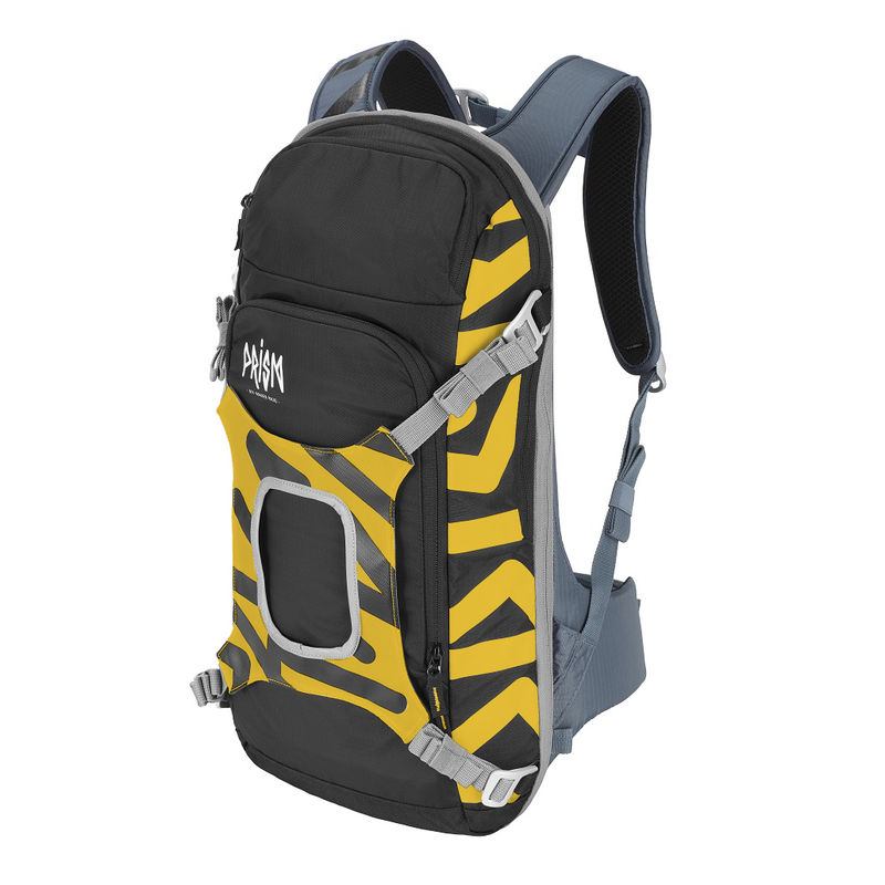 Prism Helium set 11L Set Yellow Sun - complete sports backpack with back protection