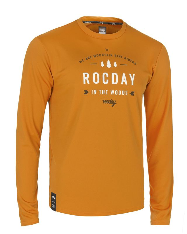 dres Rocday PATROL Jersey SANITIZED® Brown