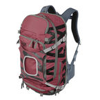 Prism Krypton 25L Set Red Earth - complete sports backpack with back protection