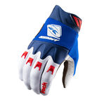 gloves Kenny Racing Track Blue White Red