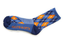 ponožky Holdsworth Sorbtek Argyle Sky & Orange